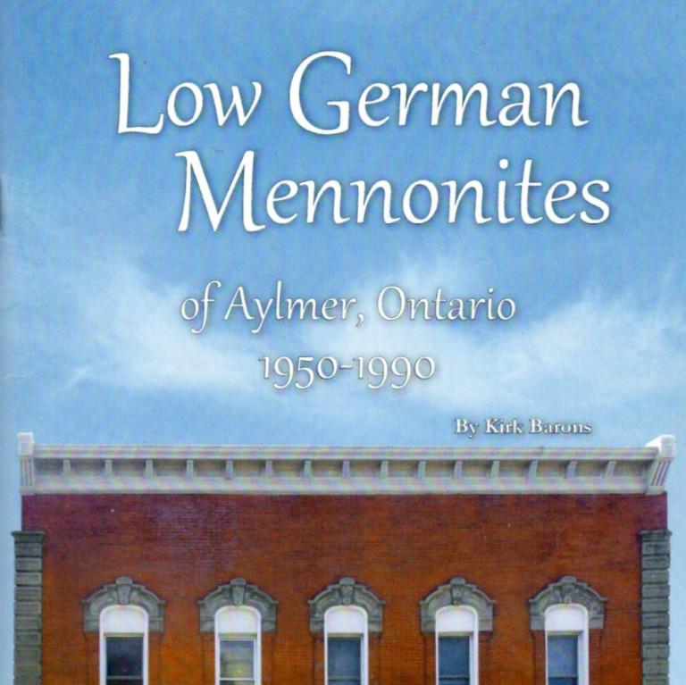 Low German Mennonites of Aylmer Ontario